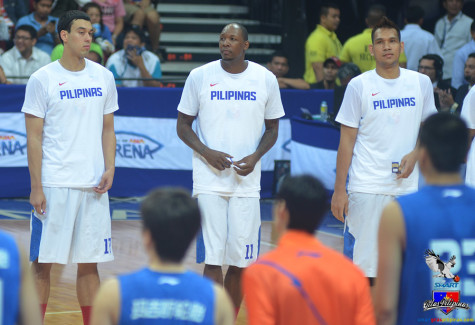 June Mar Fajardo, Greg Slaughter and Marcus Douthit