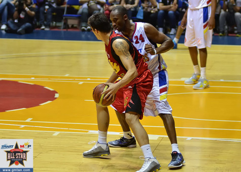 Marc Pingris vs Kobe Bryant
