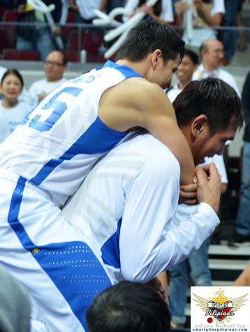 Marc Pingris and June Mar Fajardo