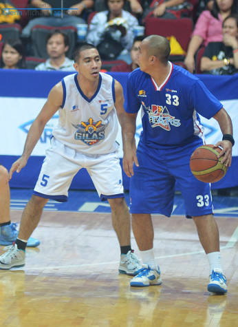 Paul Lee and LA Tenorio