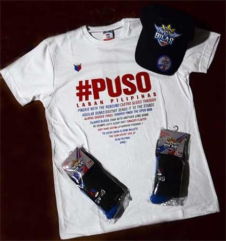 Tobys Sports Gilas Pilipinas Apparel Promo