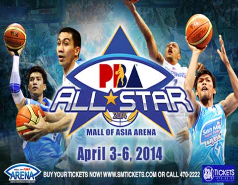 2014 PBA All-Star Weekend Mall of Asia Arena