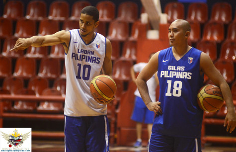 Gabe Norwood and Paul Lee for Gilas Pilipinas