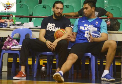 Jared Dillinger and Ranidel de Ocampo Gilas Pilipinas