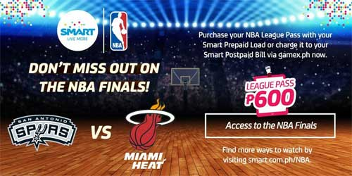 NBA Finals 2014 Smart League Pass
