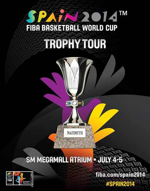 Spain 2014 FIBA Basketball World Cup Trophy Tour Manila