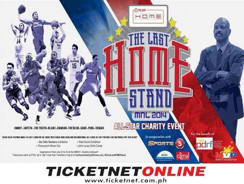 The Last Home Stand Manila 2014 All-Star Charity Event
