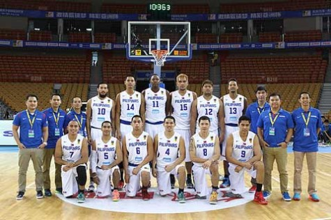 Gilas Pilipinas - FIBA Asia Cup 2014