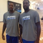 Marcus Douthit and Andray Blatche
