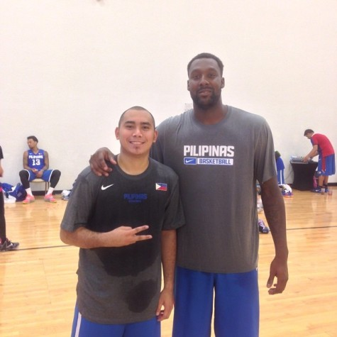 Andray Blatche and Paul Lee