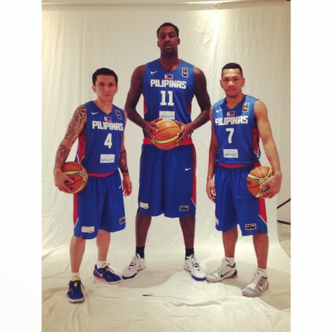 Blatche, Alapag and Castro