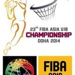 FIBA Asia U18 Championship 2014 Doha