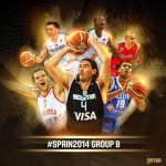 FIBA World Cup Group B Teams