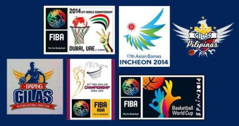 Gilas Pilipinas and Batang Gilas Tournaments for 2014