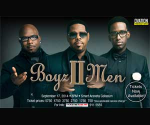 Boyz II Men Live in Manila