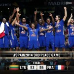 FIBA World Cup Battle for 3rd Results: France defeated Lithuania