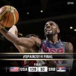 FIBA World Cup Finals Results: USA defeats Serbia