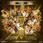 FIBA World Cup Finals: USA vs Serbia