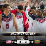 FIBA World Cup Semifinals Results: USA defeats Lithuania