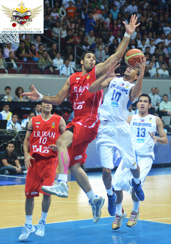 Gabe Norwood vs Iran