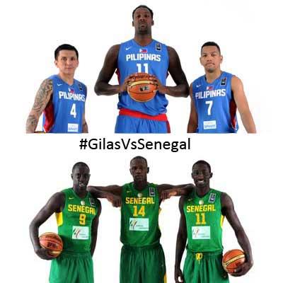 Gilas Pilipinas vs Senegal