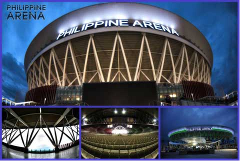 Philippine Arena Inside Basketball 19 at Philippine Arena