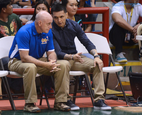 Tab Baldwin and Jimmy Alapag