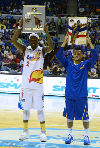 Wayne Chism and Jayson Castro