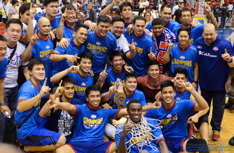 Congratulations Cafe France! PBA D-League Champions
