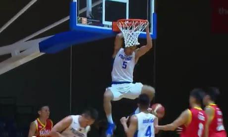 Gilas Cadets vs Malaysia - Troy Rosario