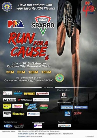 PBA Run for a Cause 2015