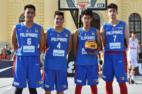 Philippine 3x3 U18 Team