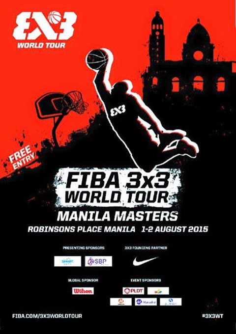2015 FIBA 3x3 World Tour Manila