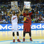 June Mar Fajardo - Best Player and Romeo Travis - Best Import
