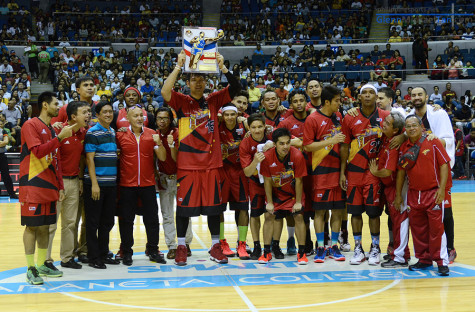 June Mar Fajardo - Best Player of the Conference