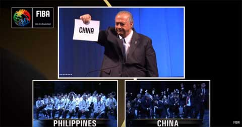 China will host 2019 FIBA World Cup