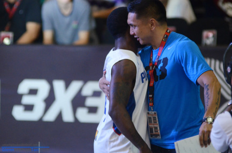 Jimmy Alapag and Porter Maberry