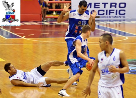 Dondon Hontiveros for Smart Gilas in 2011
