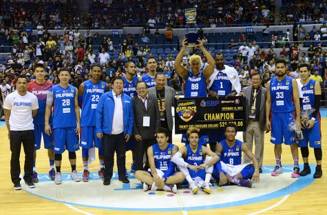 Gilas Pilipinas - MVP Cup Champions