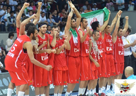 Iran Jones Cup Champions