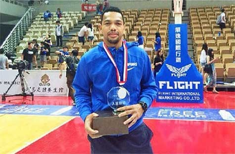 Jayson Castro part of Mythical Team in Jones Cup