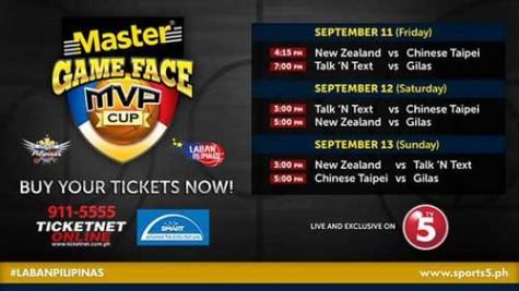 MVP Cup Schedule