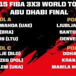 2015 FIBA 3x3 World Tour Final Abu Dhabi