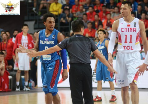 Calvin Abueva vs China
