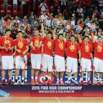 China - FIBA Asia 2015 Champions