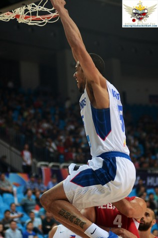 Gabe Norwood Dunk