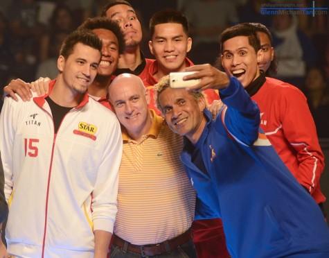 Gilas Pilipinas Selfie