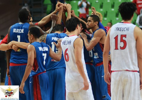 Gilas Pilipinas vs Japan FIBA Asia Semifinals