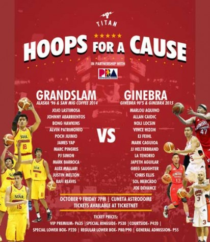 Hoops for a Cause: Grandslam vs Ginebra