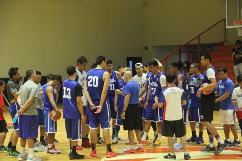 Gilas Pilipinas 1st Practice